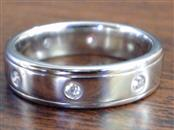 SHANE DIAMOND 0.32 TCW ETERNITY PLATINUM 950 RING BAND 13.9g SZ 9.75